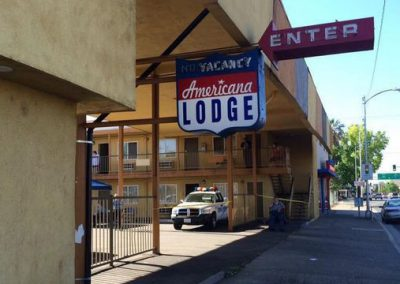 59-unit Motel in Redding, Shasta County, CA