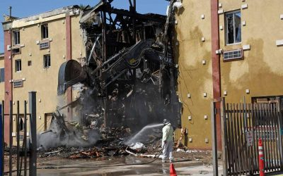 Mayan Hotel demolished